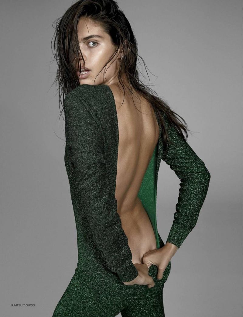 Sara Sampaio Strips Down for Narcisse Magazine