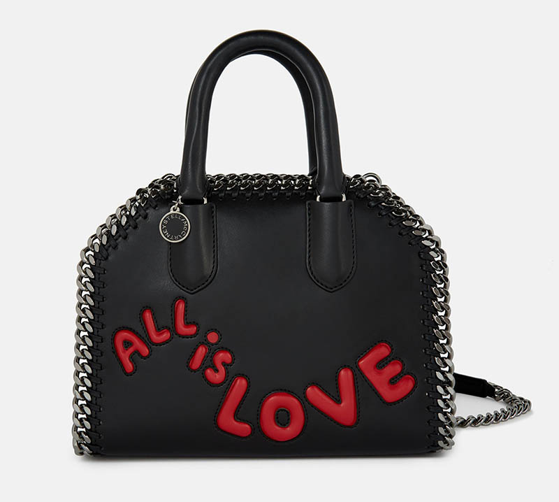 Stella McCartney 'All is Love' Falabella Box Mini Bag $1,375