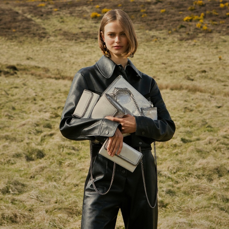 Stella McCartney champions faux leather in fall-winter 2017 campaign