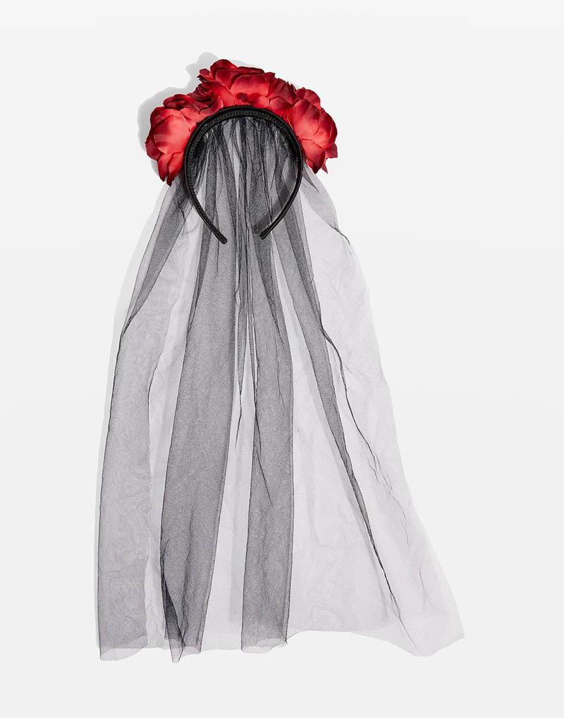 Topshop Floral Headband $22