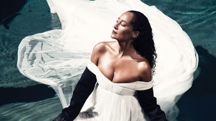 Tracee Ellis Ross Stars in Modern Luxury, Talks Growing Up with a Famous Mother