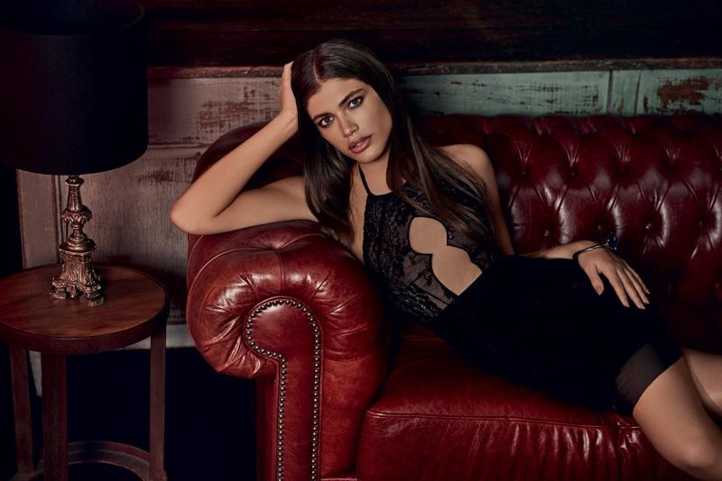 Valentina Sampaio stars in Alexandre Herchcovitch for Hope lingerie campaign