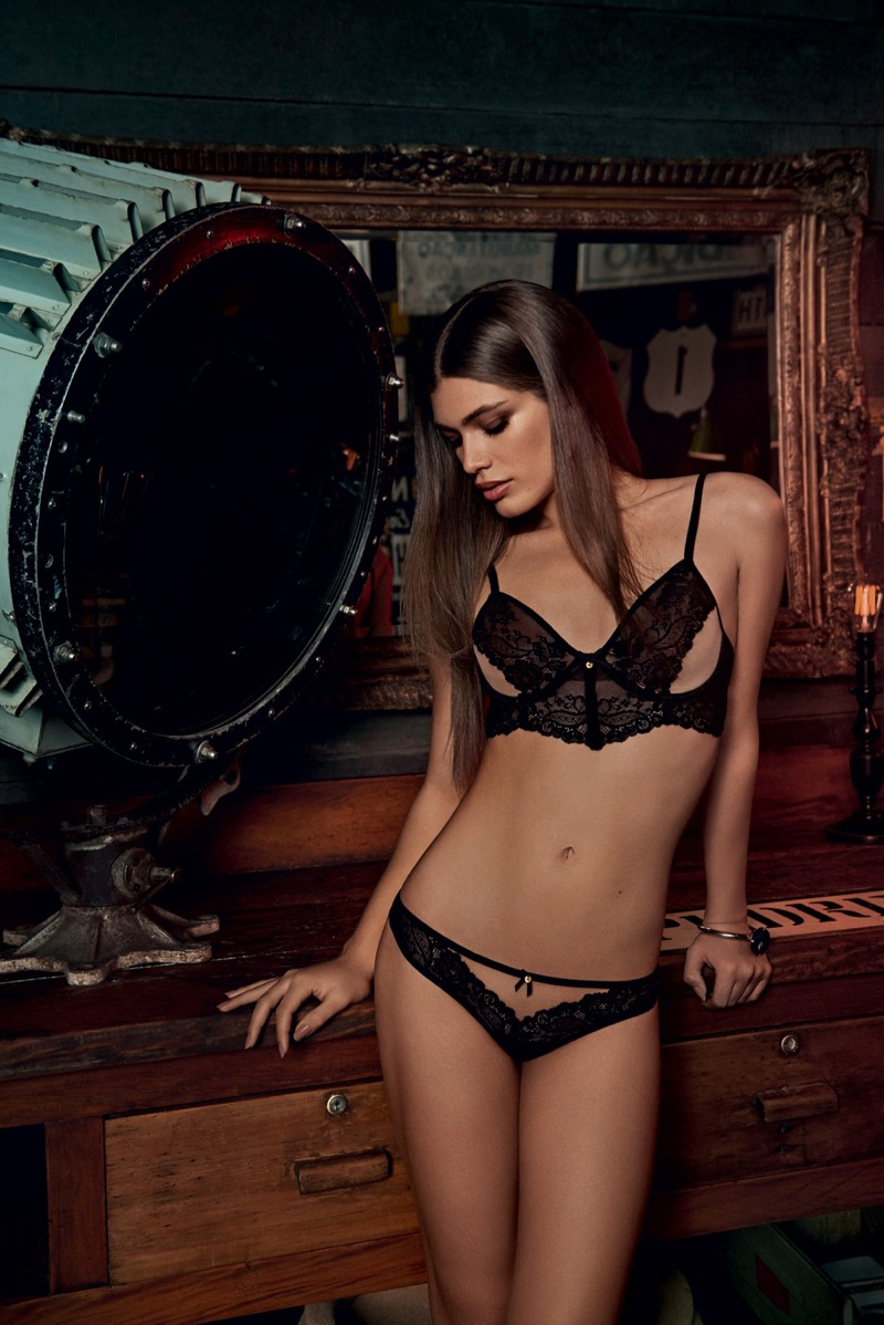 Alexandre Herchcovitch for Hope lingerie taps Valentina Sampaio for the campaign
