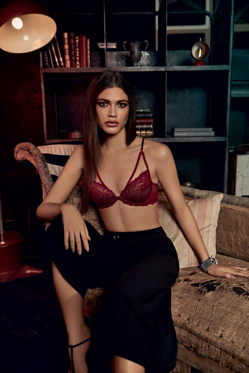 Valentina Sampaio fronts Alexandre Herchcovitch for Hope lingerie campaign