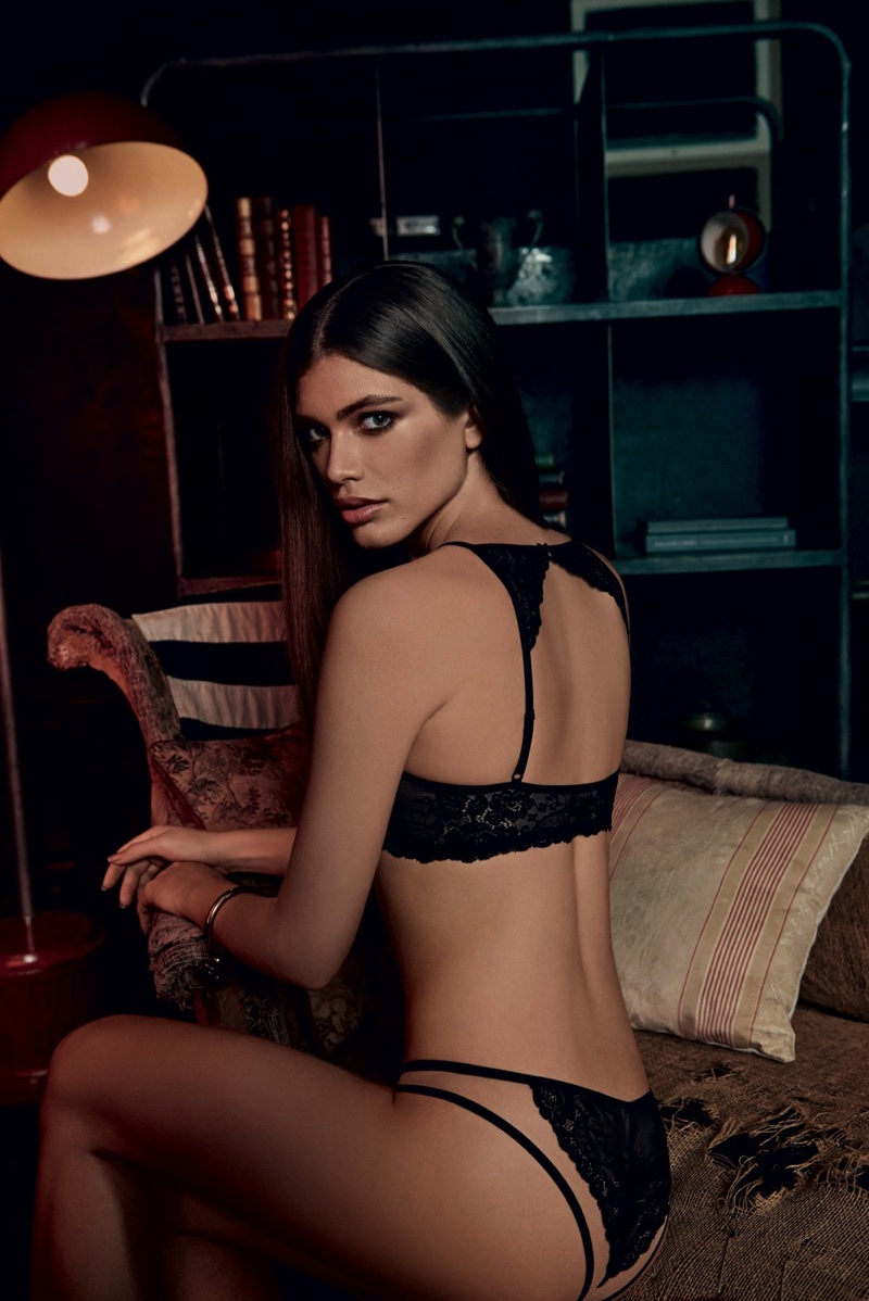 Model Valentina Sampaio flaunts her figure in Alexandre Herchcovitch for Hope lingerie campaign
