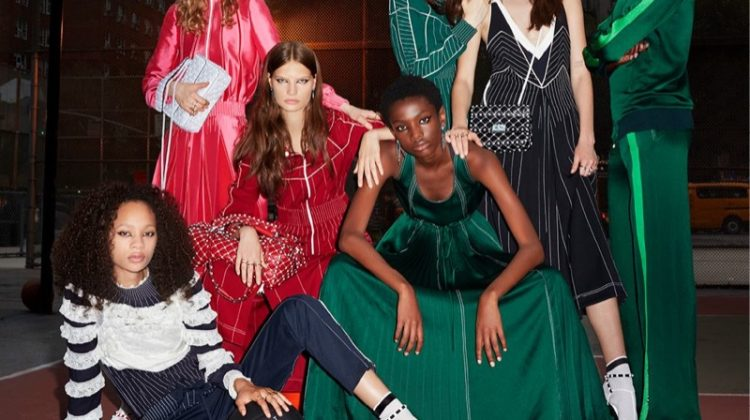 Valentino Brings Athletic Vibes to Resort 2018 Campaign