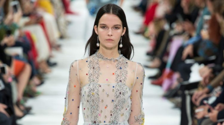 Valentino Gets Moonstruck for Spring 2018