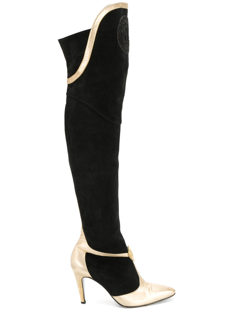 Versace Vintage Knee-Length Boots $1,691
