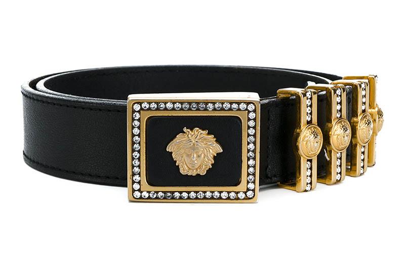 Versace Vintage Medusa Buckle Belt $1,562