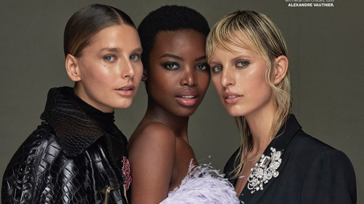 Karolina Kurkova, Maria Borges & Hana Soukupova Enchant in Vogue Portugal Cover Story