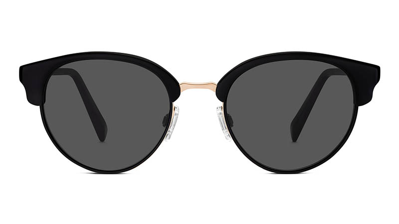 Warby Parker Carraway Sunglasses in Jet Black $195