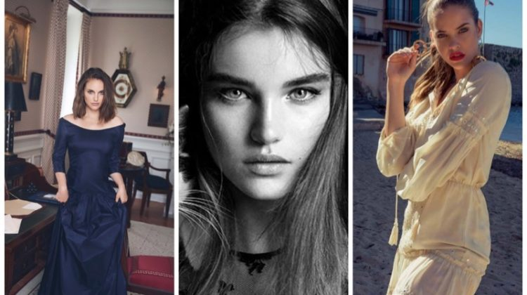 Week in Review | Givenchy's Fall Ads, Barbara Palvin for Le Lis Blanc, Natalie Portman's New Cover + More