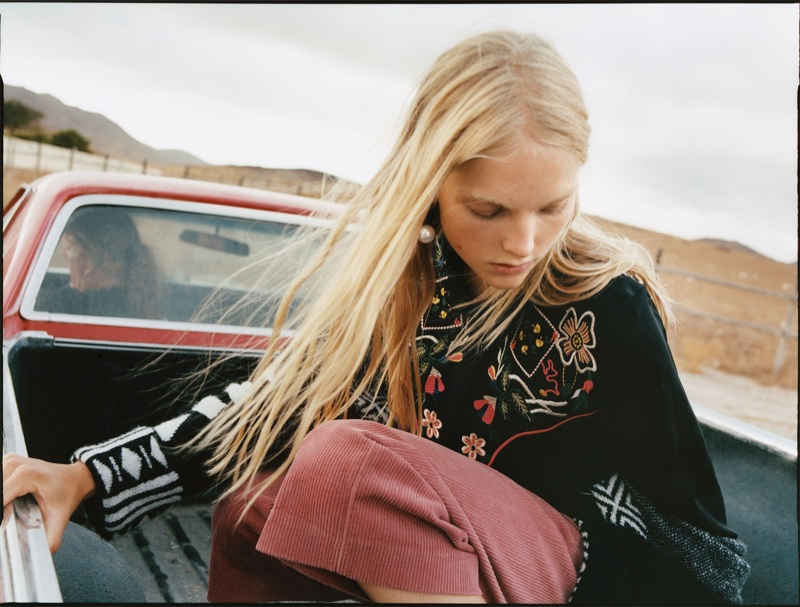 An image from Zara TRF 'Go Rodeo' fall-winter 2017 lookbook