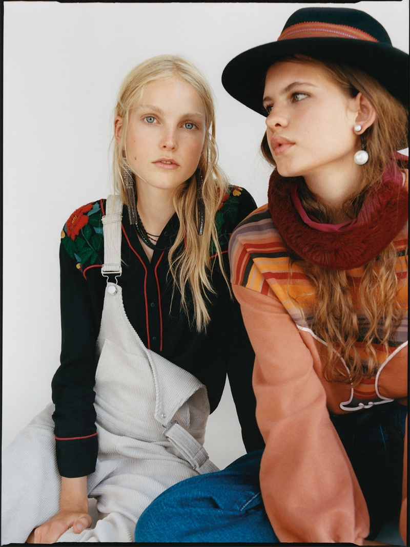 Zara spotlights western style in Go Rodeo fall-winter 2017 lookbook