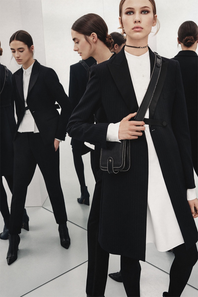 Zara spotlights all black looks from its fall 2017 Studio collection