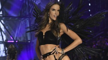 Alessandra Ambrosio walks the 2016 Victoria's Secret Fashion Show. Photo: Victoria's Secret