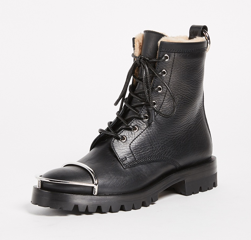 Alexander Wang Lyndon Combat Boots $595 (previously $850)