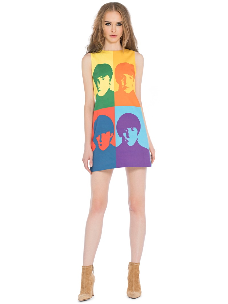 Alice + Olivia x The Beatles Clyde Dress $395