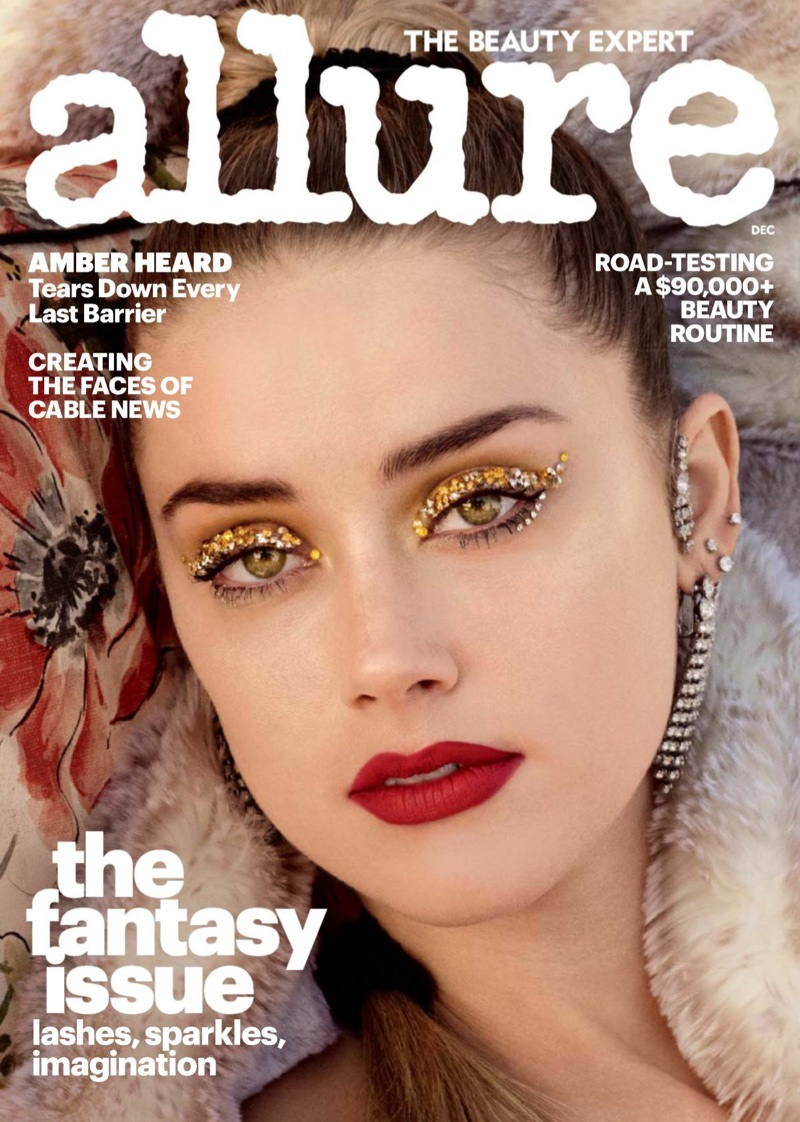 Amber Heard on Allure December 2017 Cover