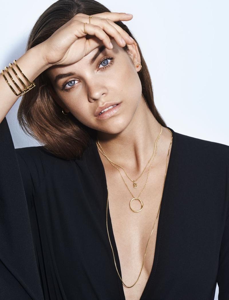 Barbara Palvin stars in Pilgrim Jewellery's spring-summer 2018 campaign
