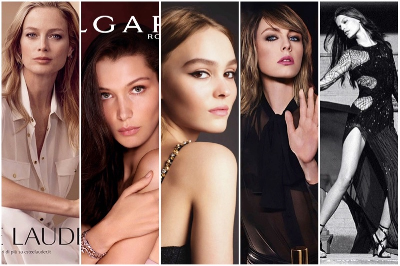 See new campaigns from Bulgari, Chanel, YSL Beauty and more