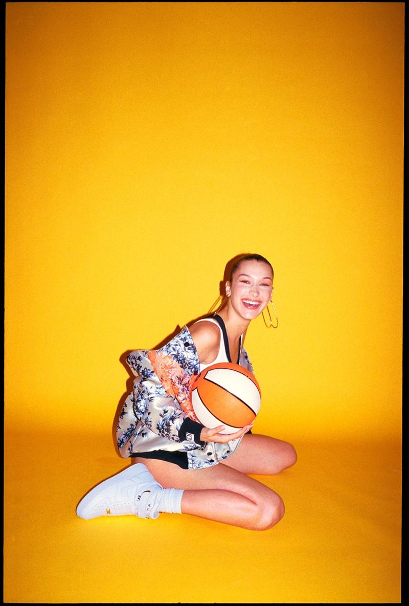 Bella Hadid Models The Coolest Nike Sneakers For Footwear