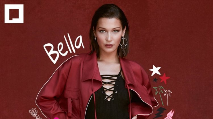 Bella Hadid stars in Penshoppe's Holiday 2017 campaign