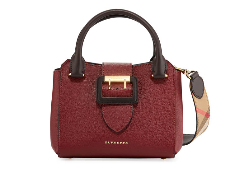 Burberry Small Soft Grain Leather Tote Bag $1,495