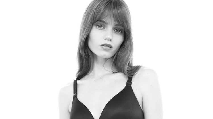 Abbey Lee Kershaw Strips Down for Calvin Klein Underwear Fall 2017 Campaign