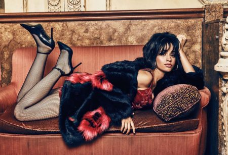 Singer Camila Cabello fronts Guess Holiday 2017 campaign