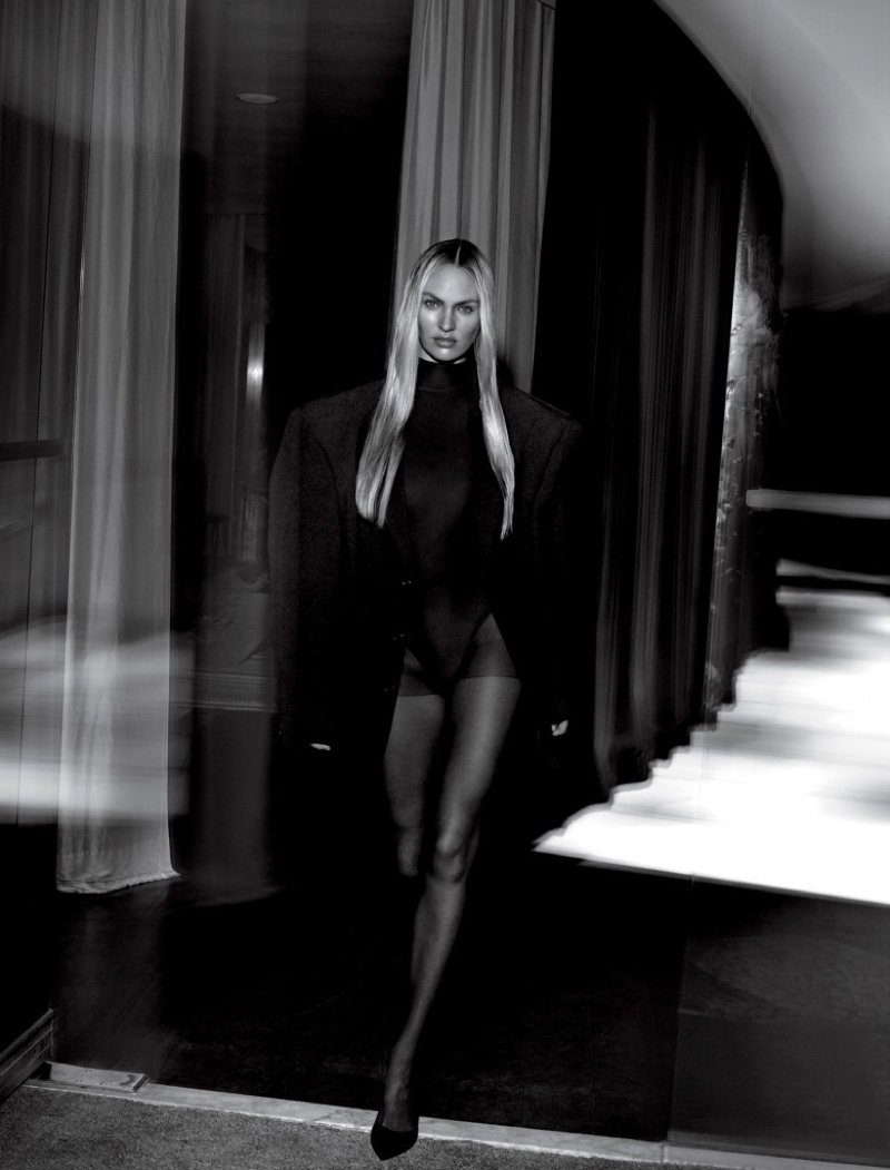 Celeb Diary: Candice Swanepoel in Vogue Rusia (august 2013)