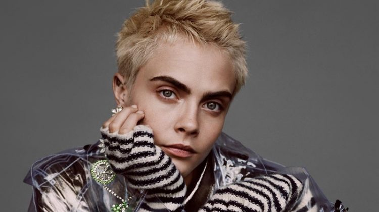Model Cara Delevingne Fashion Gone Rogue