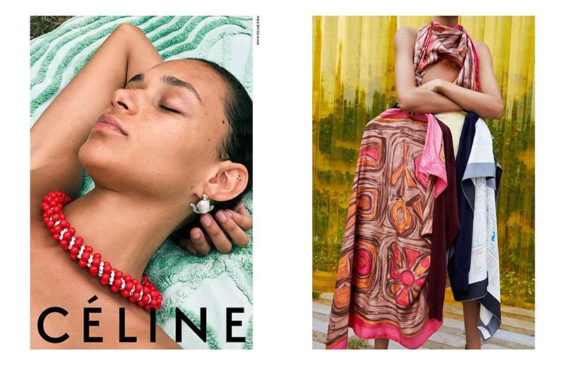 Binx Walton stars in Celine's resort 2018 campaign