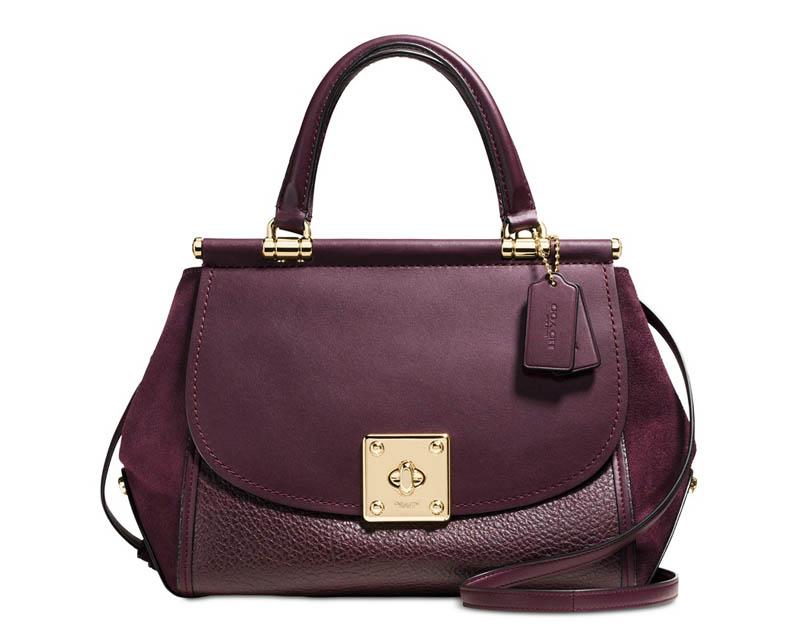 Coach 'Drifter' Mixed Leather Handbag $357 (previously $595)