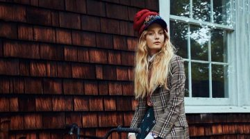 Codie Young Layers Up in Autumn Fashions for Glamour Germany