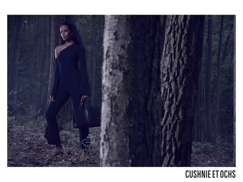 Cushnie et Ochs captures fall-winter 2017 campaign in woods setting