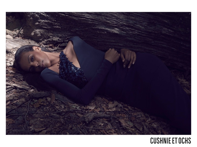 An image from Cushnie et Ochs' fall 2017 advertiisng campaign