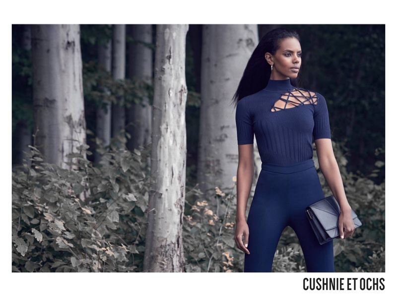 Grace Mahary stars in Cushnie et Ochs' fall-winter 2017 campaign