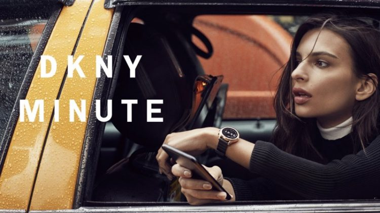 Emily Ratajkowski stars in DKNY Minute campaign