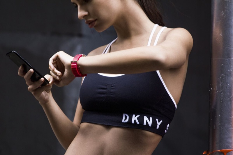An image from DKNY Minute campaign