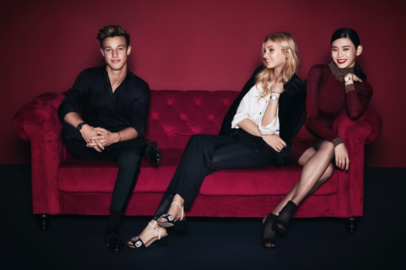 Cameron Dallas, Elsa Hosk and Ming Xi star in Daniel Wellington's Holiday 2017 campaign