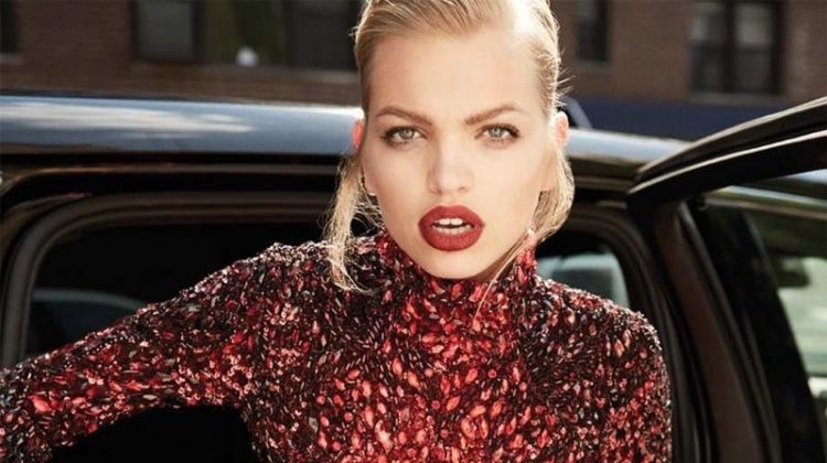 Daphne Groeneveld Poses in Glamorous Looks for Harper's Bazaar Turkey
