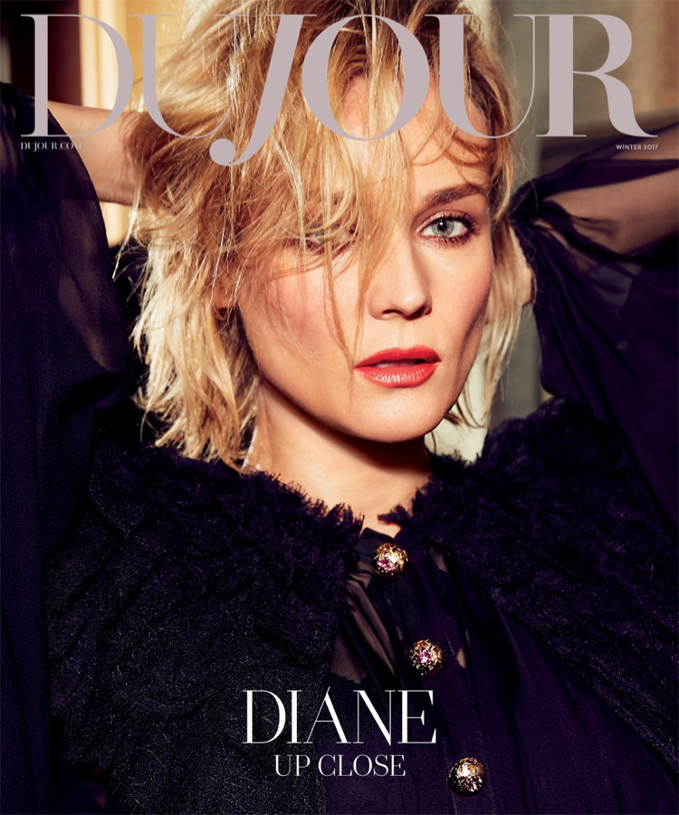 Diane Kruger on DuJour Magazine Winter 2017 Cover