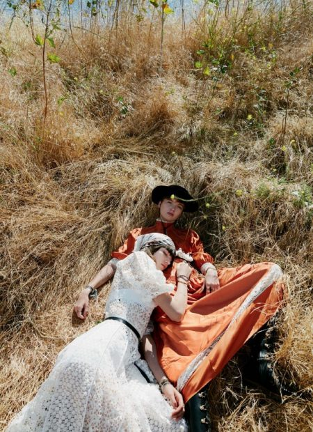 Grace Hartzel & Ruth Bell Model Resort Style for Dior Magazine
