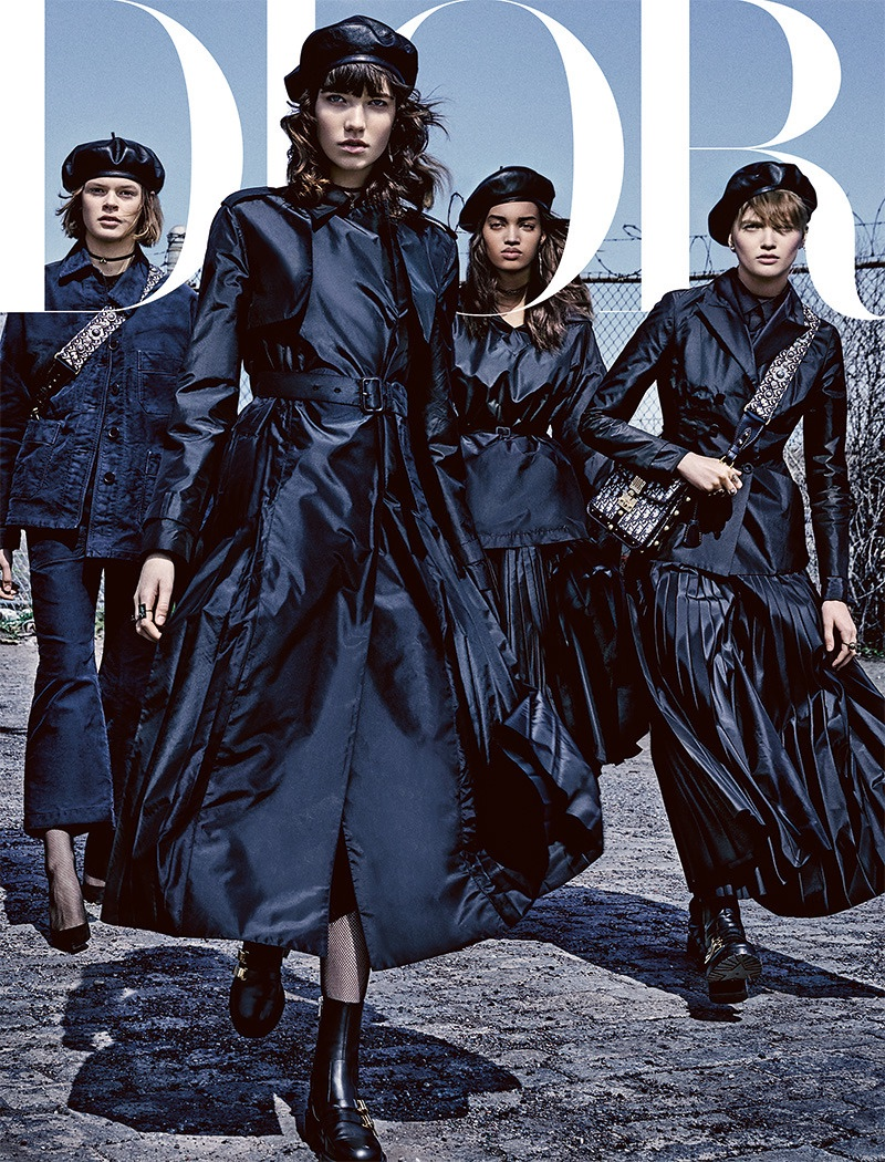 Grace Hartzel, Ruth Bell Are 'Leaders of the Gang' for Dior Magazine