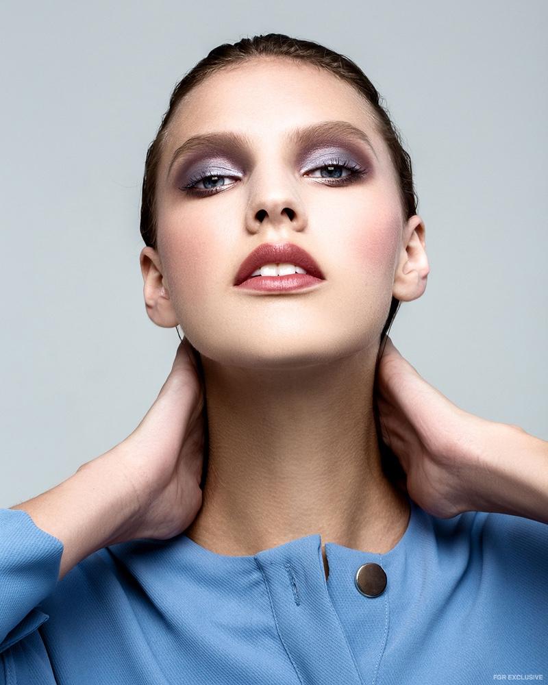 Top Zara (Skin) Kryolan Cream Shadow in ILA 2 & 481G, NARS Velvet Matte Lip Pencil in Bahama