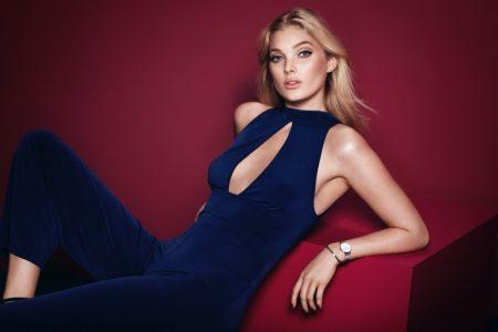 Elsa Hosk Exudes Elegance in Daniel Wellington's Holiday 2017 Campaign
