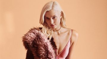 Karlie Kloss Dresses Up in Express' Holiday 2017 Campaign