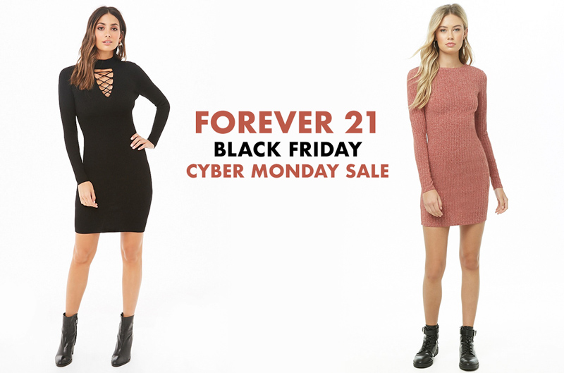 Forever 21 2018 Black Friday & Cyber Monday sales