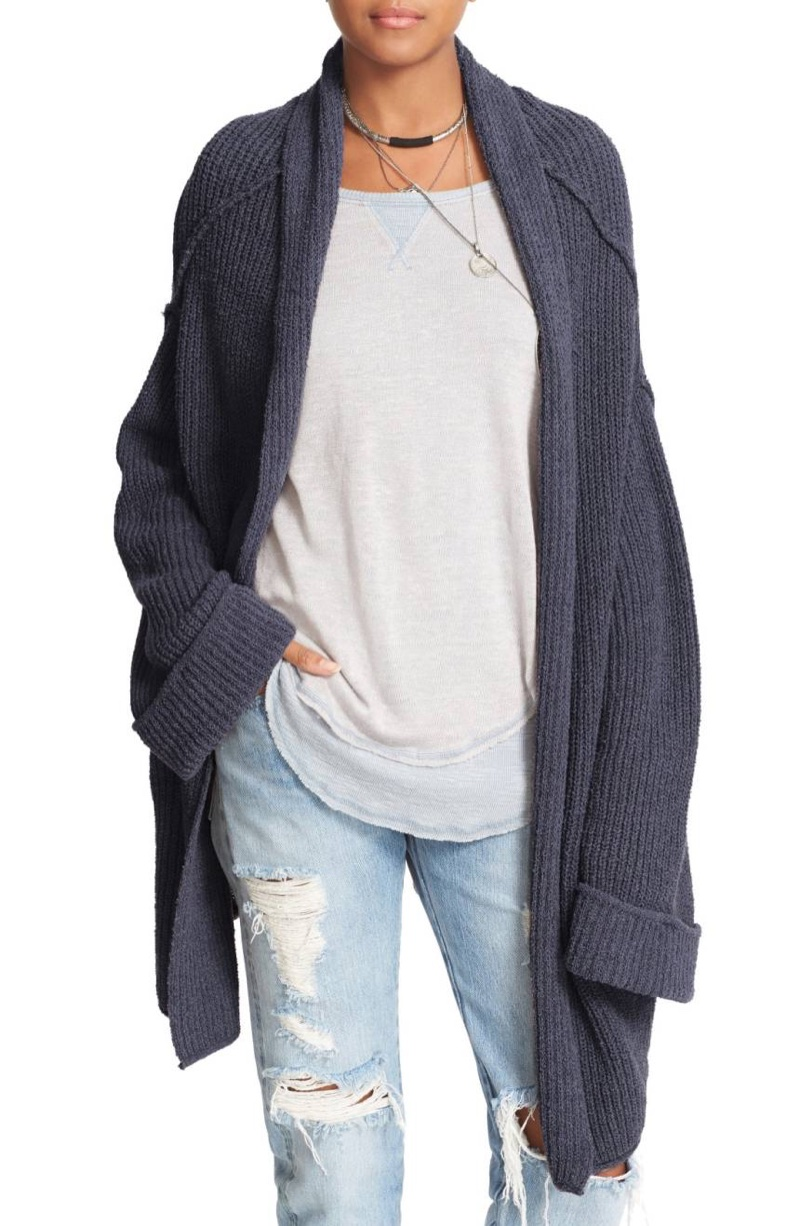 Free People Low Tide Cardigan $74.99 (previously $128)